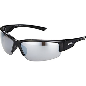 UVEX Sportstyle 215 Glasses, black/silver